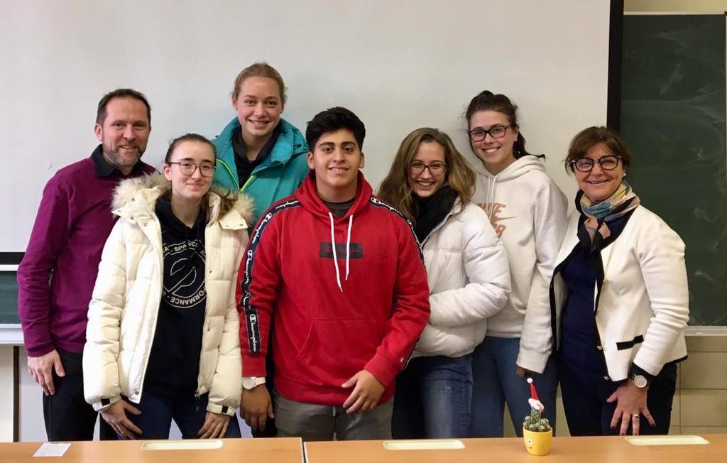 Austauschschüler aus Argentinien an der HLA